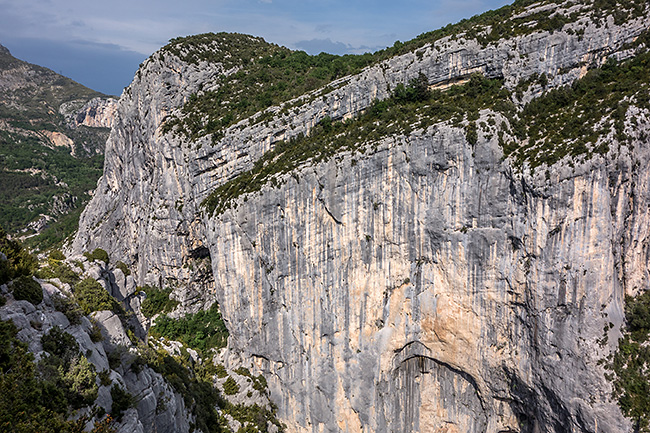photo montagne alpes escalade grande voie gorges verdon escales point sublime derobee