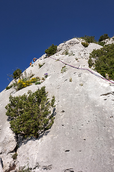 photo montagne alpes escalade grande voie gorges verdon malines lou des garrigues