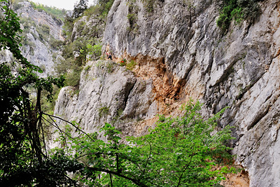 photo montagne alpes gorges verdon sentier imbut vidal