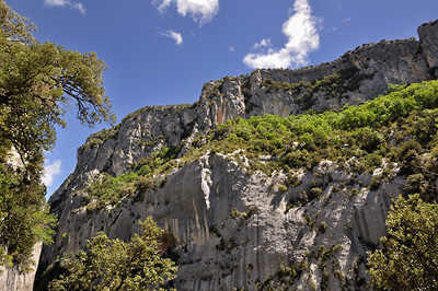 photo montagne alpes gorges verdon sentier blanc martel