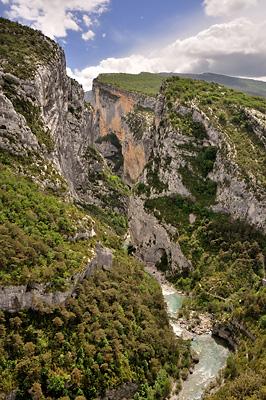 photo montagne alpes gorges verdon sentier blanc martel