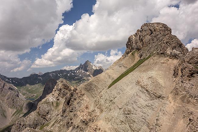 photo montagne alpes ecrins via ferrata aiguilette lauzet