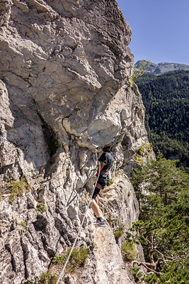 photo montagne via ferrata vanoise aussois diable diablotins