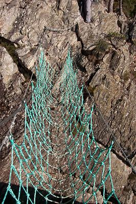 photo montagne via ferrata puy juscles haute-loire auvergne gouffre enfer
