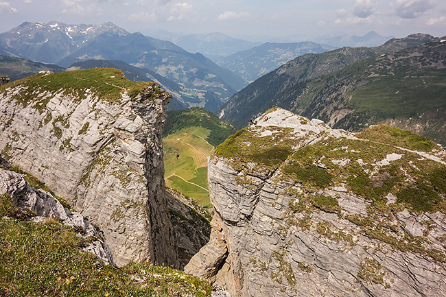 photo montagne alpes via ferrata savoie beaufortain cormet roselend roc des vents