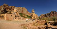 Panorama du monastère de Noravank