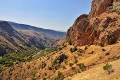 Arides montagnes arméniennes