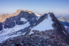 Arête des Lanchettes et Mont Tondu