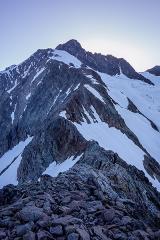 Arête des Lanchettes et Aiguille des Glaciers