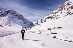 Au départ de Val d'Isère